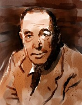 C.S. Lewis, by Paulina Van Vliet. All rights reserved.