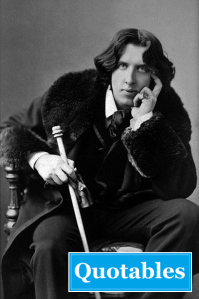 Writing Vs. Editing - and Oscar Wilde's Commas