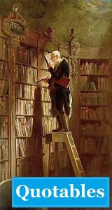 The Bookworm, by Carl Spitzweg {PD}