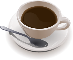 Cup o'coffee, wikimedia commons. (CC BY-SA 2.0)
